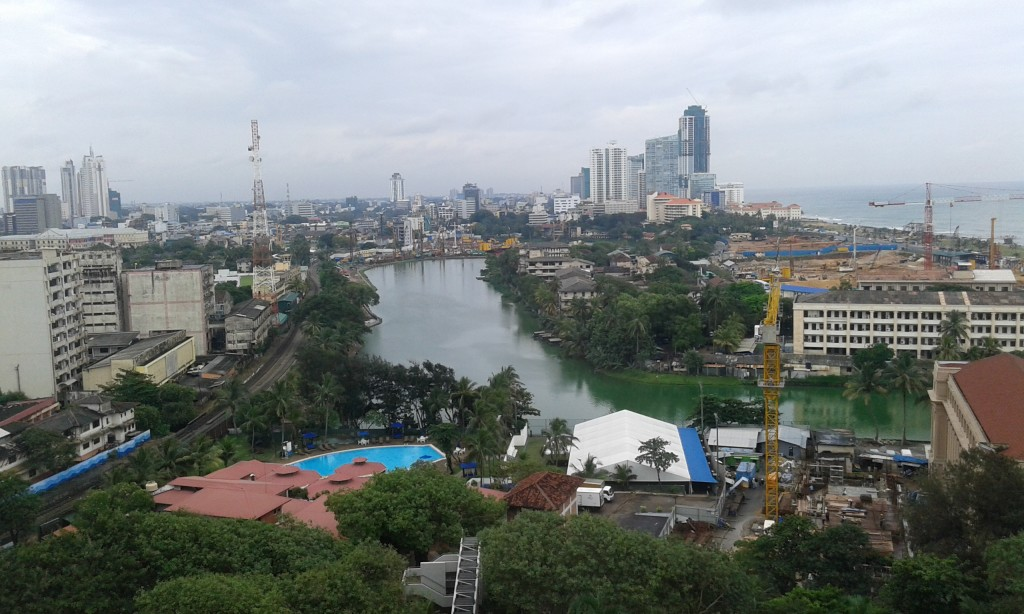 View from Hilton Colombo